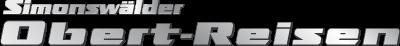 Obert-Reisen, der Simonswälder Logo